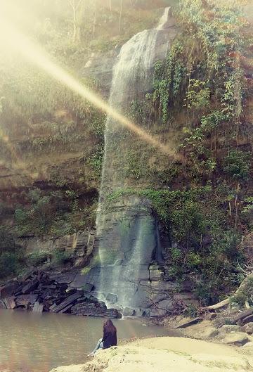 Rijhuk Waterfall
